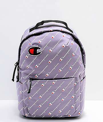 Champion Supercize Smoked mini mochila lila