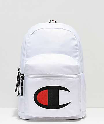 Champion Supercize mini mochila blanca