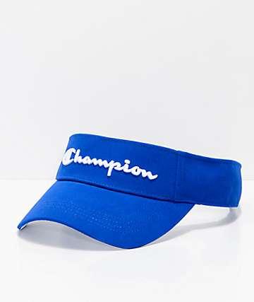 Champion Surf Blue visera azul de tela asargada y malla