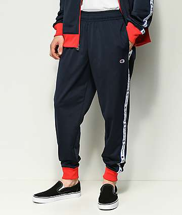 Champion Tape Jogger Navy Track Pant