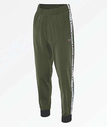 Champion Taping Olive Jogger Track Pants