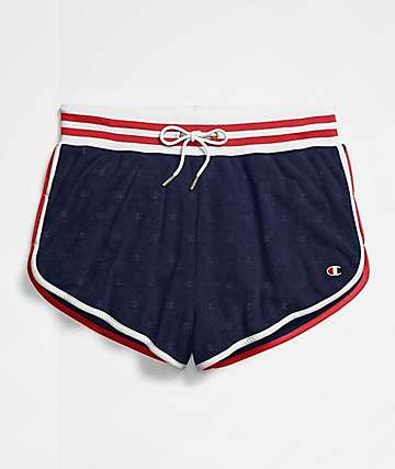Champion Terry Cloth Imperial Indigo Shorts