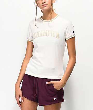 Champion Tiny camiseta corta blanca