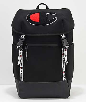 Champion Top Load Logo mochila negra