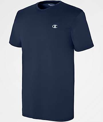 Champion Vapor Cotton Navy T-Shirt