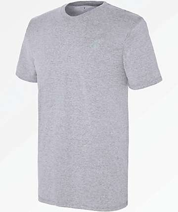 Champion Vapor Grey Cotton T-Shirt