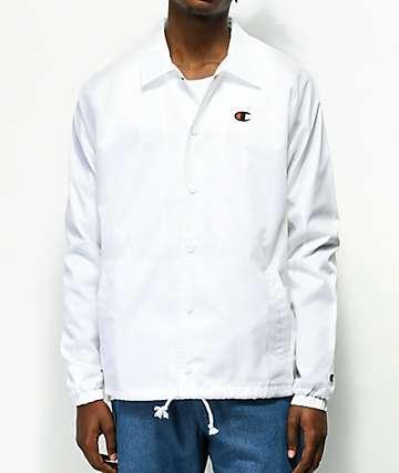Champion West chaqueta entrenador blanca