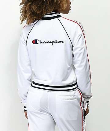 Champion chaqueta de chándal blanca