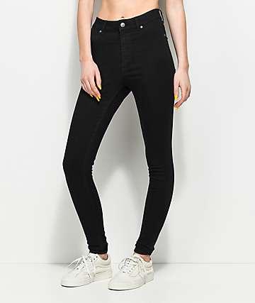 Cheap Monday High Spray Black Skinny Jeans