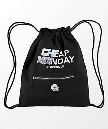 Cheap Monday Rapid Gym Cinch Bag