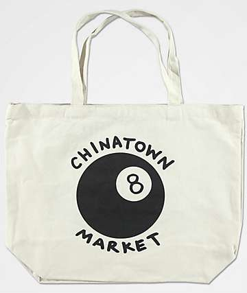 Chinatown Market 8 Ball Cream 20L Tote