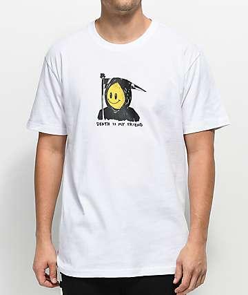 Chinatown Market Death Is My Friend camiseta blanca