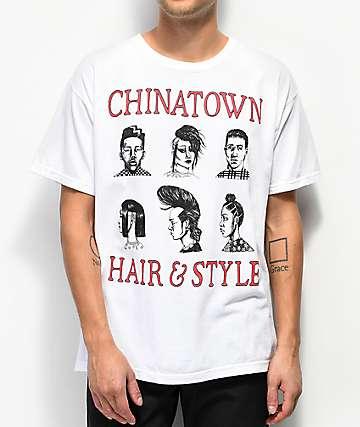 Chinatown Market Hair & Style White T-Shirt
