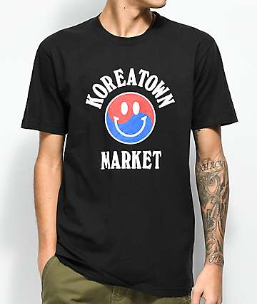 Chinatown Market Koreatown Black T-Shirt