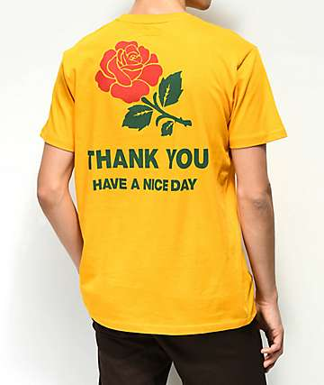 Chinatown Market Thank You Rose Gold T-Shirt