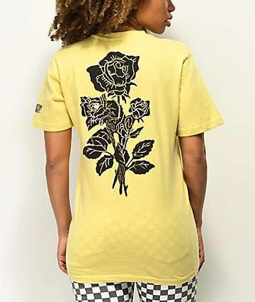 Chinatown Market Thank You Rose Yellow T-Shirt