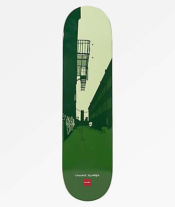 "Chocolate Alvarez City Series 8.0"" Skateboard Deck"