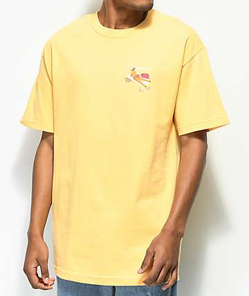Chocolate Beach Bather Yellow T-Shirt