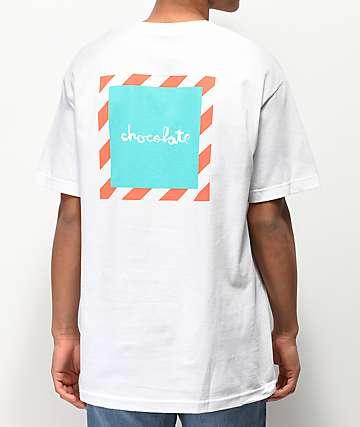 Chocolate Chico'B camiseta blanca