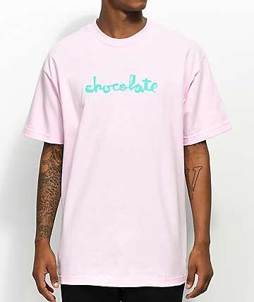 Chocolate Classic Chunk camiseta rosa