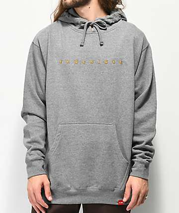 Chocolate Comic Grey Hoodie