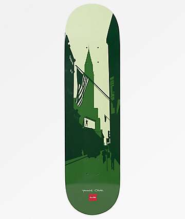 "Chocolate Cruz City Series 8.125"" Skateboard Deck"