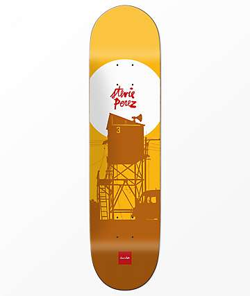 "Chocolate Stevie Perez Sunset 8.25"" Skateboard Deck"