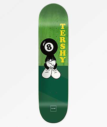 "Chocolate Tershy 8 Ball One Off 8.25"" Skateboard Deck"