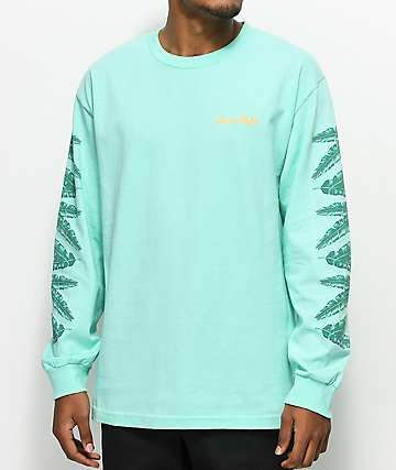Chocolate Tropicalia Celadon Long Sleeve T-Shirt