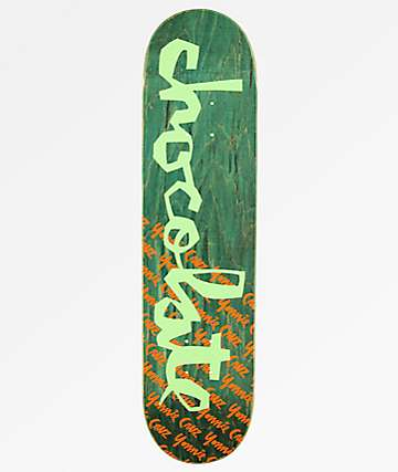 "Chocolate Yonnie OG Chunk 7.75"" Skateboard Deck"