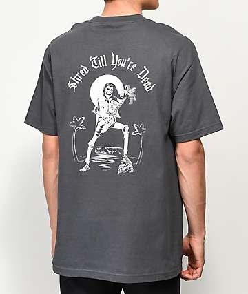 Chomp Beach Rock Charcoal T-Shirt