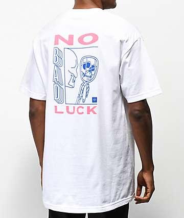 Chomp No Bad Luck White T-Shirt