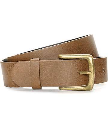 Cinturon Free World Mingler color marron