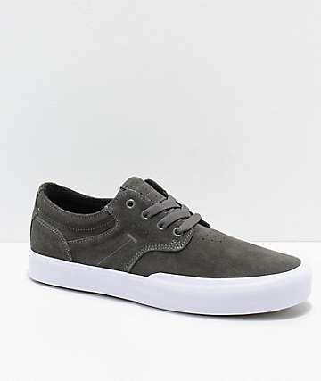 Circa Elston Charcoal & White Skate Shoes