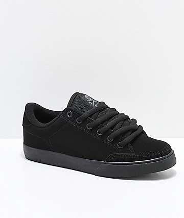 3dd9c85c3d Circa Lopez 50 Black Skate Shoes