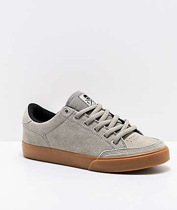 Circa Lopez 50 Flint Grey & Gum Skate Shoes