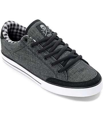 Circa Lopez 50 zapatos de skate en blanco y negro