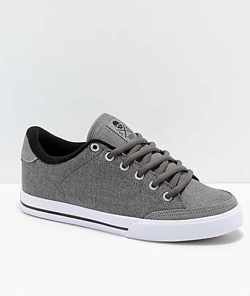 Circa Lopez 50 zapatos de skate en color carbón y blanco