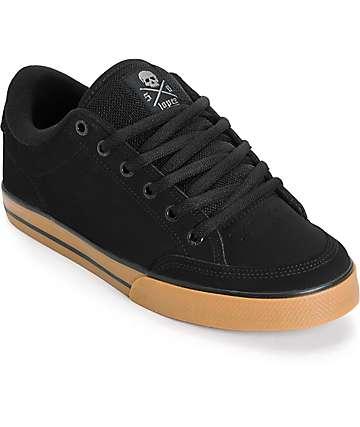 Circa Lopez 50 zapatos de skate en negro y goma