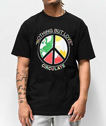 Circulate Nothing But Black T-Shirt