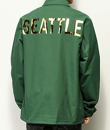 City Chapters Seattle chaqueta entrenador verde
