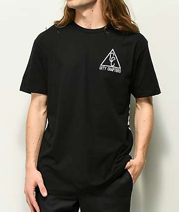 City Chapters Spokane Black T-Shirt
