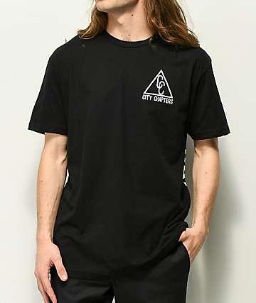 City Chapters Spokane camiseta negra