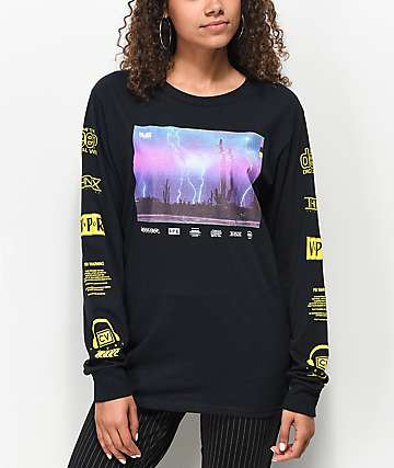Civil Acid Reign Black Long Sleeve T-Shirt