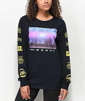 Civil Acid Reign camiseta negra de manga larga