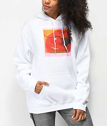 Civil Future Female White Hoodie