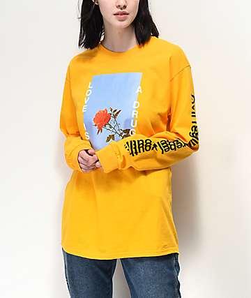 0a502287f42 Civil Love Gold Long Sleeve T-Shirt