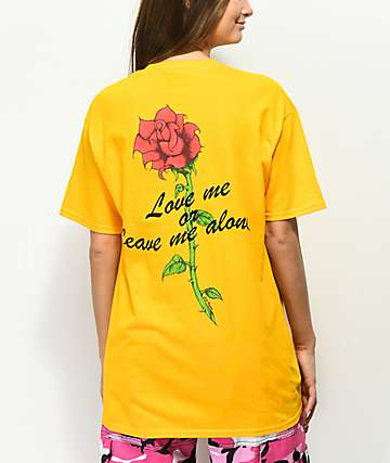 Civil Love Me Yellow T-Shirt