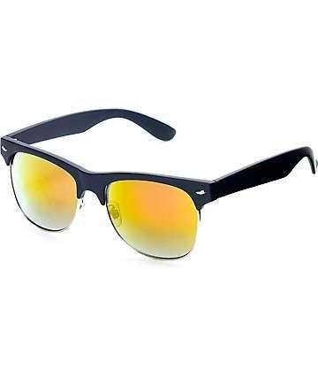 Classic Dark Wood Sunglasses
