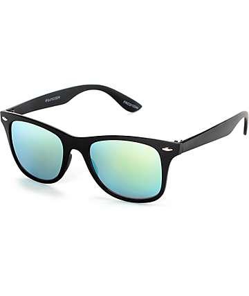 Classic Friday gafas de sol revo en negro y dorado